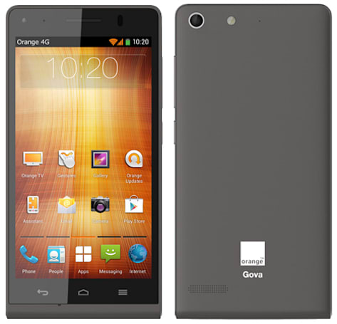 Orange's Gova smartphone promises fast LTE on a budget