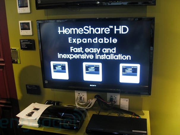 Sony's NHS-A30C / NHS-70C AV racks and HomeShare hands-on