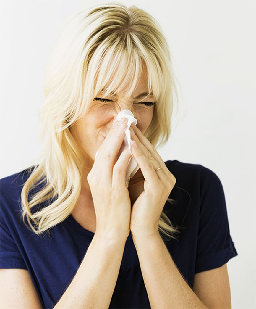 Beauty tips to help mask allergies