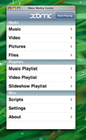 Use your iPhone as an XBMC remote