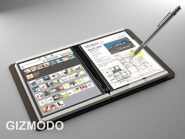 Courier new? Gizmodo posts alleged pics and video of MS Tablet