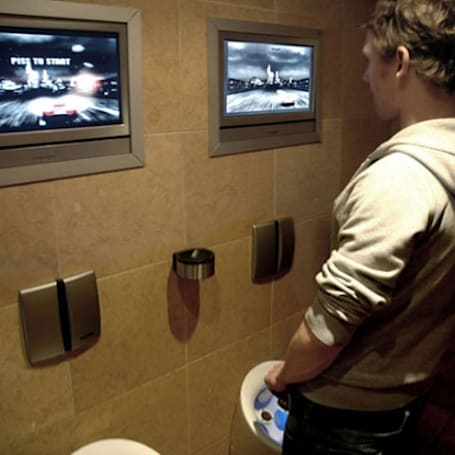 Urinal game banned by killjoy Belgium police