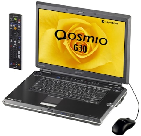 Toshiba's Qosmio G30 is first laptop with HD DVD-R