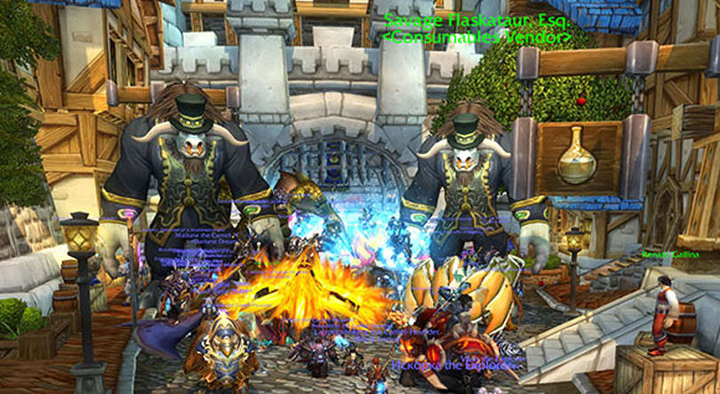 Warlords of Draenor beta ending on November 3