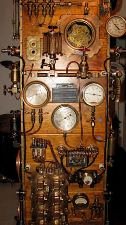 SteamPunk Frankenstein casemod sure to anger Luddites