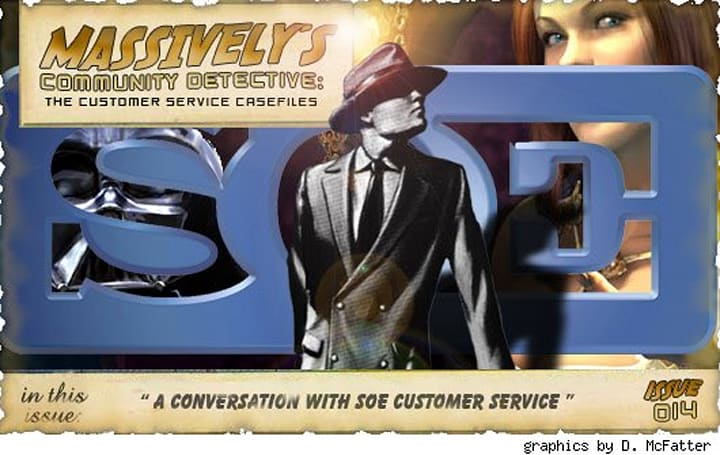 Community Detective Issue #14: A conversation with SOE customer service