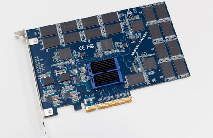 Super Talent teases whip-fast RAIDDrive UpStream PCIe SSD