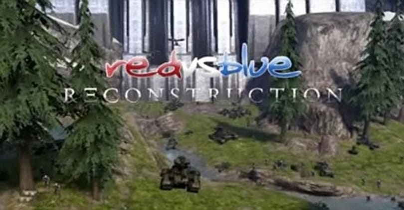 Red vs Blue: Reconstruction episode one is go