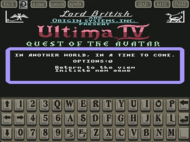 Free remake of Ultima IV C64 lands on iOS