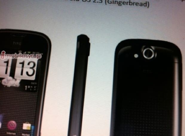 Mobilicity prepares HTC Emerald (aka MyTouch 4G) for northern ascent
