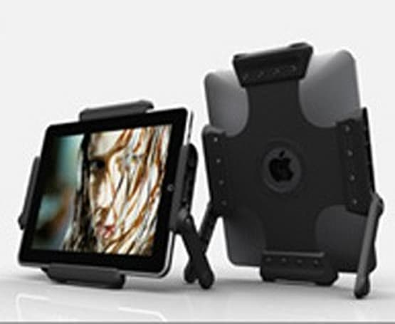 The TabGrip Stand for the iPad, a decent stand with a major problem