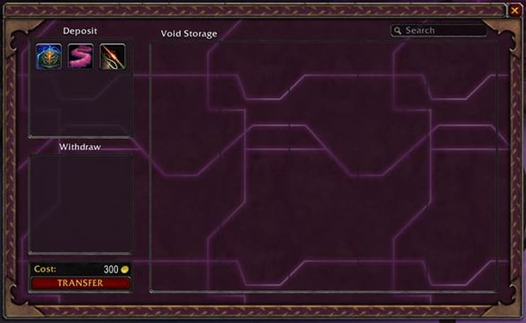 Official Void Storage preview