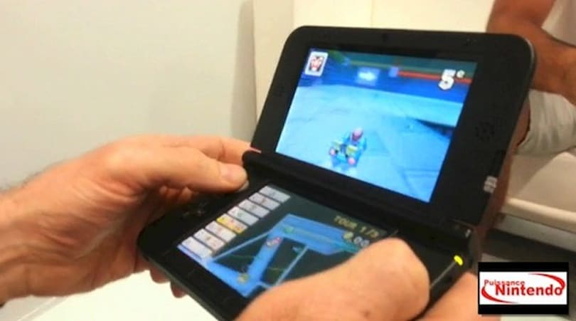 Nintendo 3DS XL caught on video, gets manhandled abroad