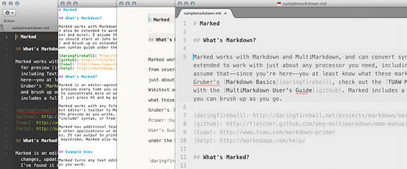 Marked 2.3 arrives in the Mac App Store
