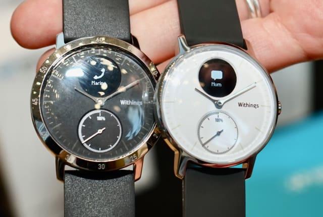 心拍測れて『25日間の電池持ち』Withingsが新アナログスマートウォッチ「Steel HR」を1月20日発売