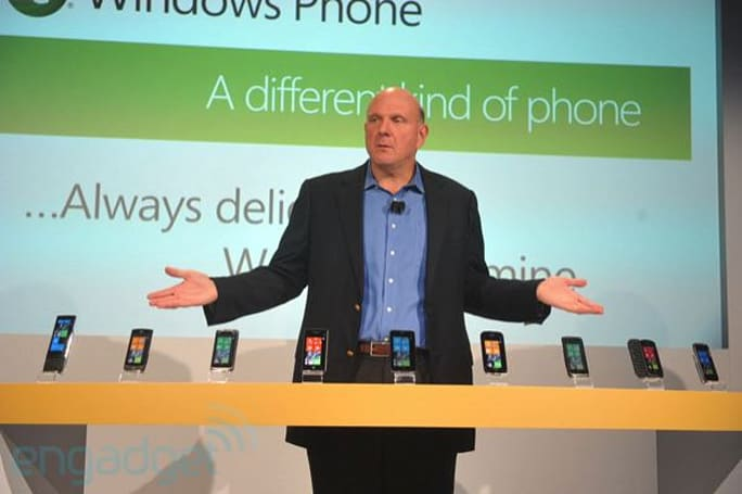 Windows Phone 7 handsets: spec comparison