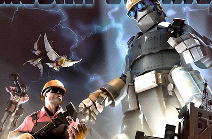 Team Fortress 2 greets the season with the 'Mecha Update'