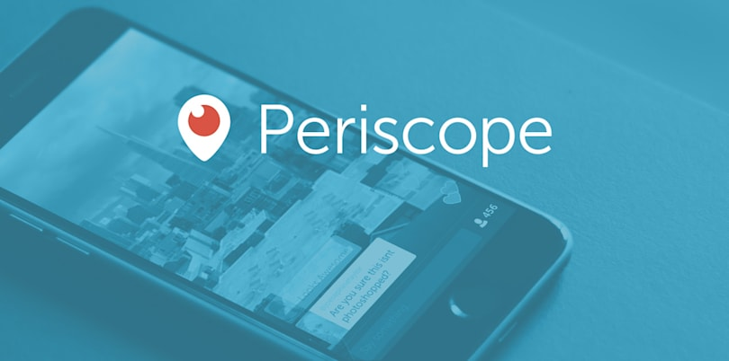 Periscope lets you scribble on your livestreams