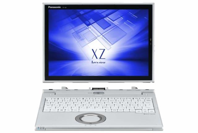 タブレット時12型画面で550g。レッツノートの分離型2in1新シリーズ、XZが2月17日発売