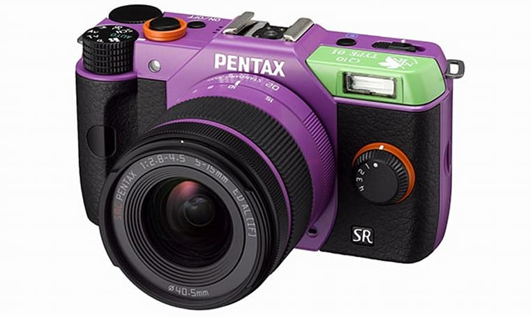 Pentax shows NERV, flashes Japan-only Evangelion-flavored Q10s