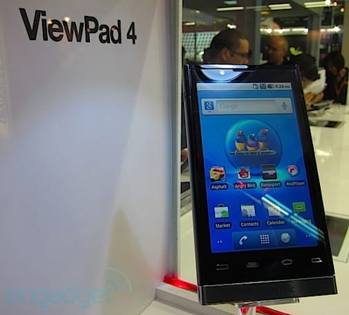 ViewSonic ViewPad 4 MWC 2011 hands-on (video)