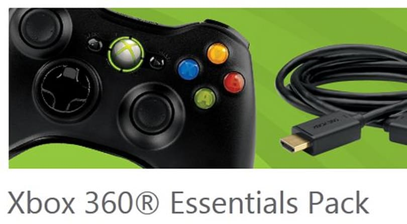 Xbox 360 Essentials pack coming in October for $79.99