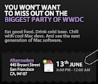 WWDC Party: The Delicious Generation