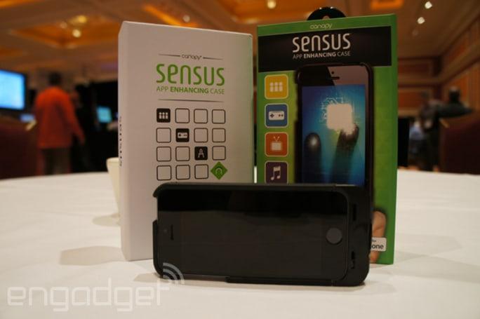 Canopy's Sensus app enhancing case hands-on