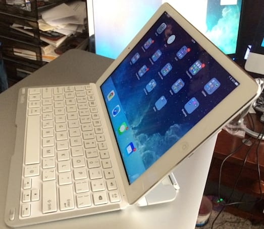 Belkin's QODE Thin Type Keyboard Case for iPad Air