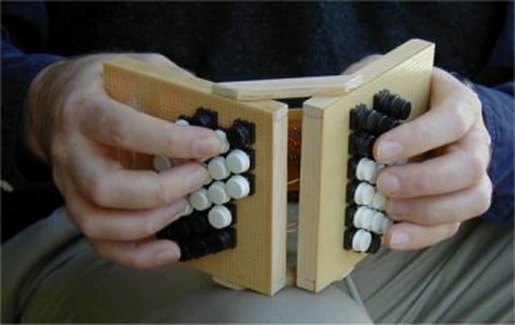 Wow your friends with your very own MIDI concertina