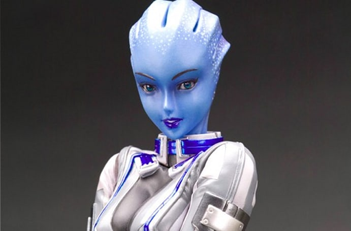 Mass Effect Liara figurine also includes Mass Effect 3 DLC [update]