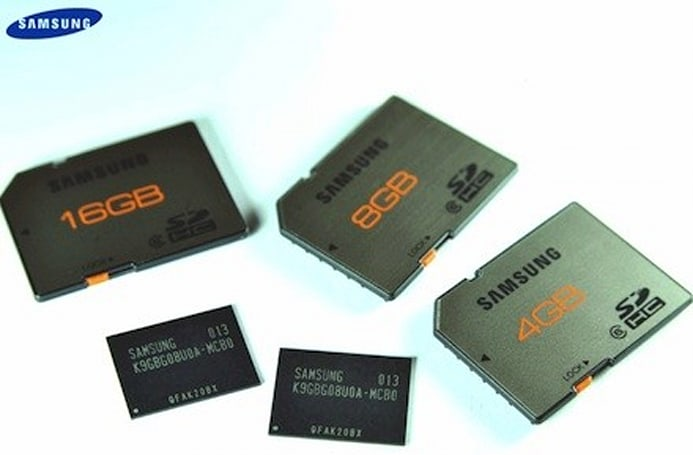 Samsung opens 'most advanced' 20nm-class flash memory production line
