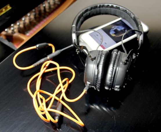 V-Moda XS On-Ear Headphones provide comfort, incredible sound