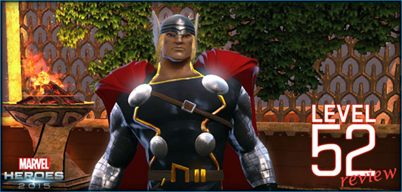 Marvel Heroes publishes Thor's level 52 review