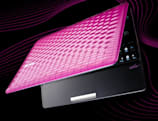 ASUS gets official with Eee PC 1008P Seashell: available in hot pink and coffee brown (updated: with video!)