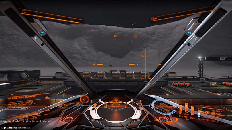 Explore the surfaces of planets in 'Elite: Dangerous' beta