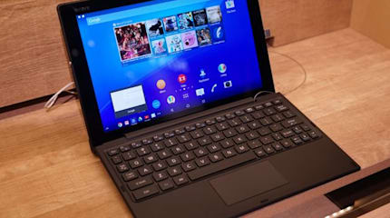 Xperia Z4 Tablet『キーボードスタイル』は快適。広いトラックパッドと専用UI搭載