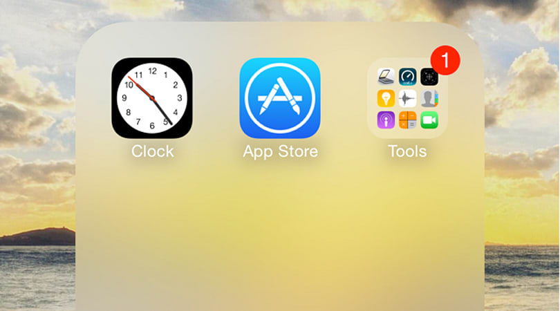 How to create nested folders and completely hide apps in iOS 8