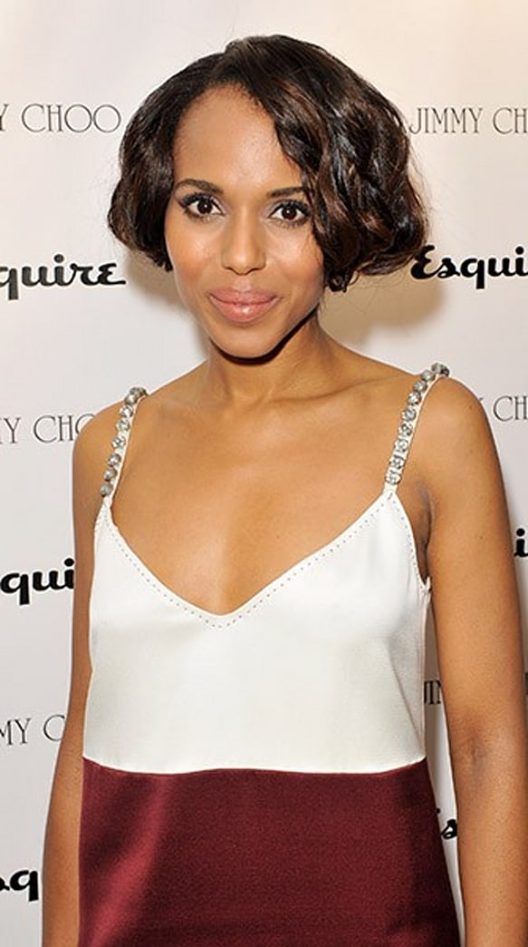 Look of the Week: Kerry Washington's Gatsby-Inspired Bob