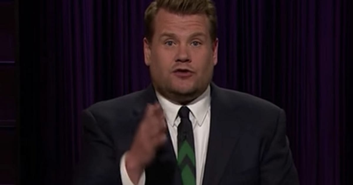 James Corden Tries To Count The Lies Of Donald Trump And Can't Keep Up