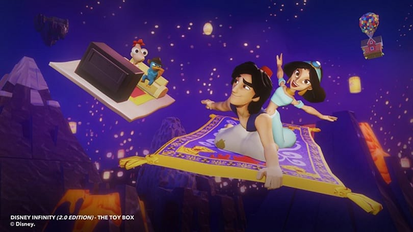 Disney Infinity 2.0 is a whole new world with Aladdin, Jasmine