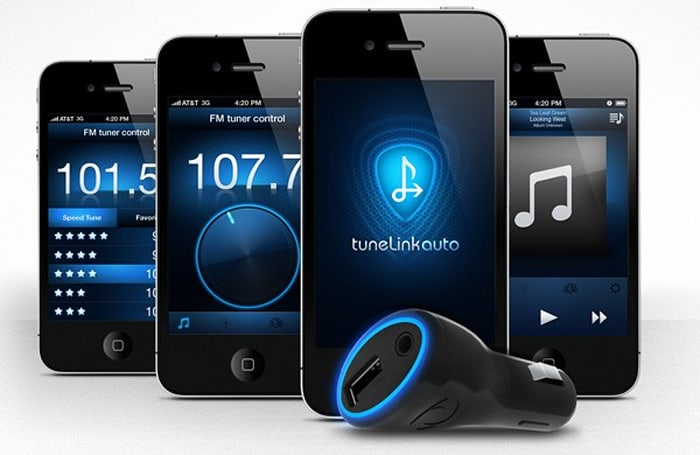 New Potato reveals TuneLink Auto Bluetooth-to-FM transmitter for iPhone, iPod touch and iPad