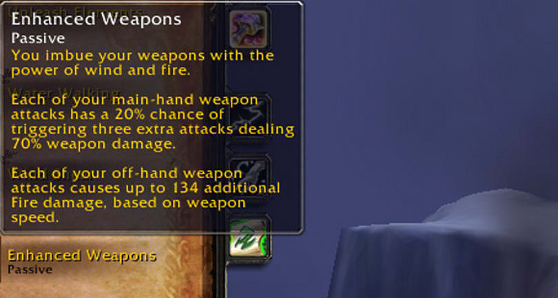Warlords of Draenor: Changes to Weapon Imbues and Unleash Elements