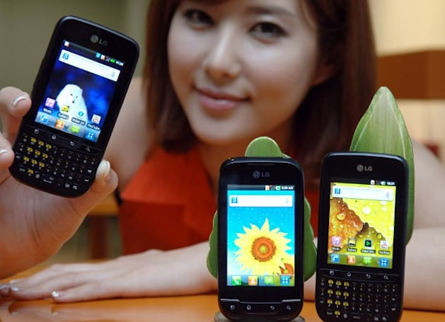 LG takes Gingerbread-sporting Optimus Net and Pro out of the oven