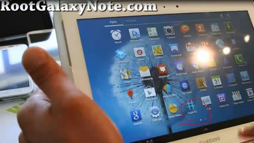 Galaxy Note 10.1 just hitting shelves, already said to be rooted