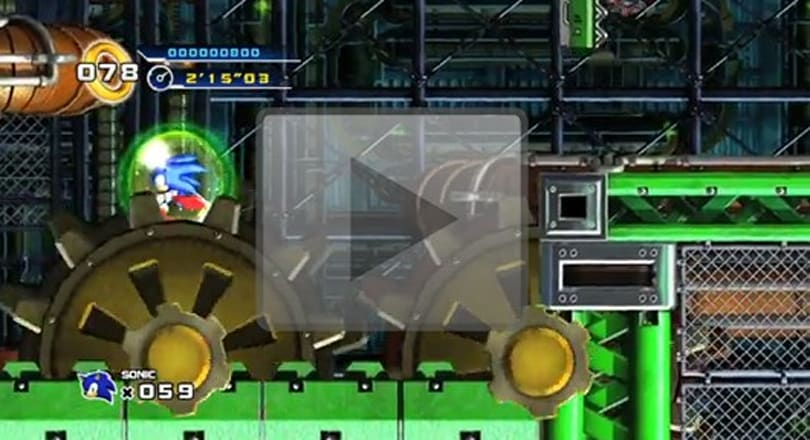Sonic 4's 'Mad Gear Zone' isn't what we thought