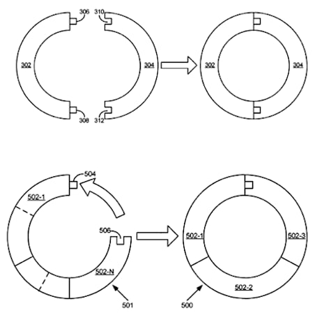 Apple patents 8cm to 12cm disk adapters