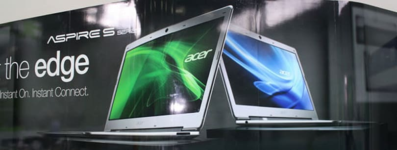 Acer's Ultrabook S3 up for pre-order on Italian site, is this the Aspire 3951?