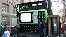 Up close with Cricket's giant Samsung Messager