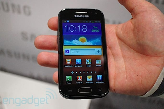 Samsung Galaxy Ace 2 hands-on (video)